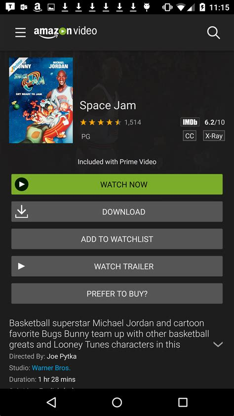 amazon prime video   offline viewing  android