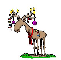 reindeer sticker  ios android giphy