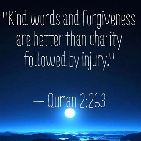 Quranic Quotes On Kindness