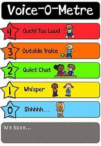 Voice Level Chart Voice Level Chart By Little Wombats Teachers Pay Teachers