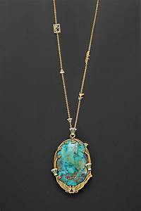 Egyptian Revival 18kt Gold, Turquoise, and Enamel Pendant ...