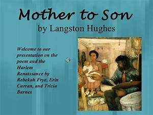 Mother to son (1)