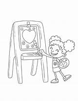 Easel Step2 sketch template