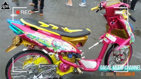 Modifikasi Mio Raching Keren by Modifikasi Yamaha Mio Soul Keren Racing Edisi