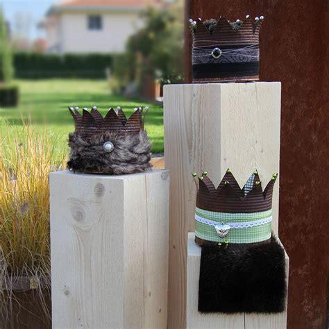 krone basteln erwachsene 16 besten deko kronen bilder auf blechdosen kronen und krone basteln