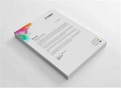 Letterhead Modern Template Artemis Corporate Templates Company