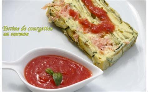 recette terrine de courgettes au saumon