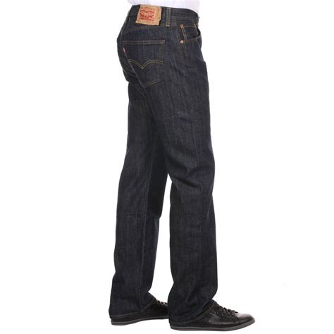 t shirt levis 501 jean levi 39 s 501 original normal fit bleu foncé rue des
