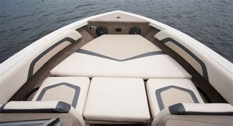 Boat Bow Lounger Cushions by Crestliner 1850 Hawk Family Fishing And Boats