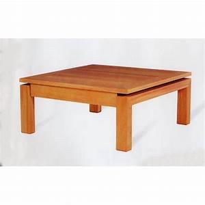 Table De Salon Carrée : table de salon carr e karla meubles de normandie ~ Teatrodelosmanantiales.com Idées de Décoration