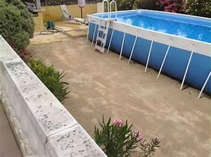 Preparation Terrain Pour Piscine Hors Sol Tubulaire : pose d 39 un gazon artificiel m moire de forme marignane ~ Premium-room.com Idées de Décoration
