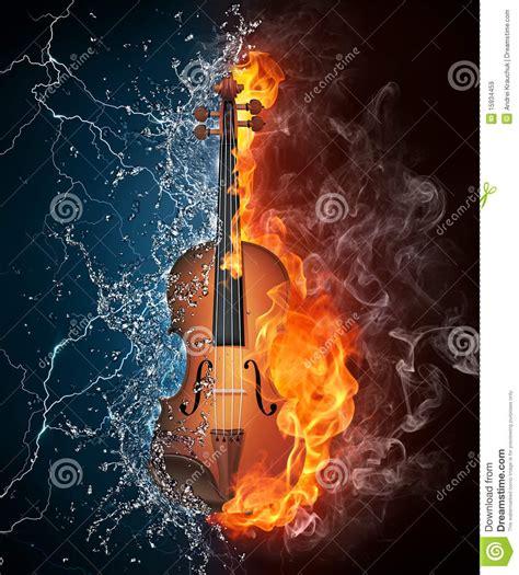 0.25x 0.5x 0.75x 0.9x 1x 1.1x 1.25x 1.50x 2x. Violin on Fire and Water stock illustration. Image of ...