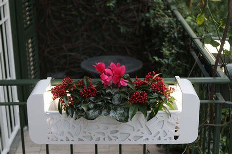 ringhiera per terrazzo fioriere per balconi hi fior