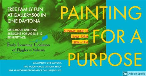painting purpose hosted early learning coalition flagler