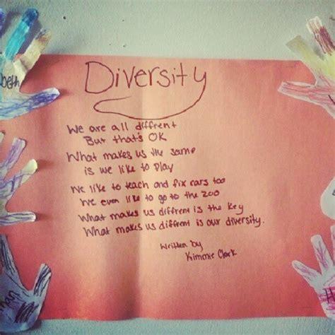 preschool diversity poem and prints children s 959 | dc03754aaa2a515cb5e309e10b76f353