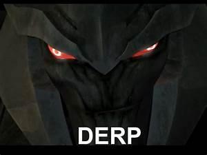 Megatron Derp by mettaray