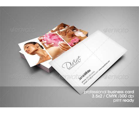 beauty salon  spa business cards designmaz