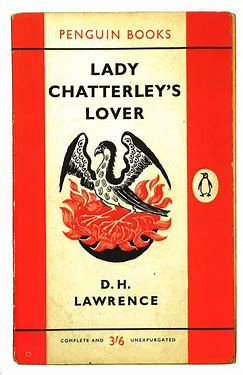 Image result for images book cover lady chatterley's lover
