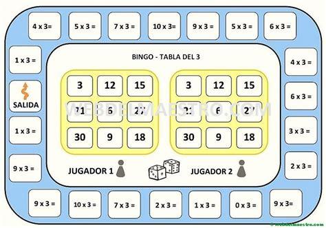 Descarga ejercicios de razonamiento lógico matemático secundaria, ayuda a desarrollar las habilidades matemáticas de tus alumnos. juegos de matematicas-tabla del 3 - Web del maestro
