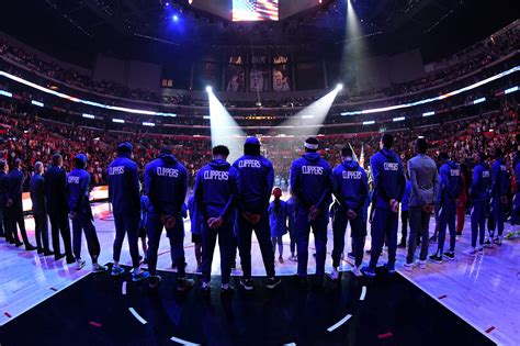 Clipper nation in nautical flags underneath.image (i.redd.it). LA Clippers: 5 signs their season was just getting started