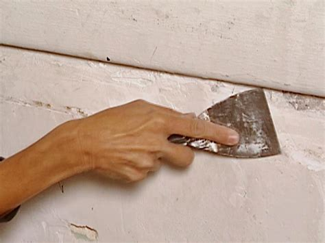 le si鑒e how to repair a plaster wall how tos diy