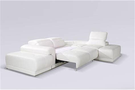 objet design cuisine canapé d 39 angle blanc benley convertible canapés d
