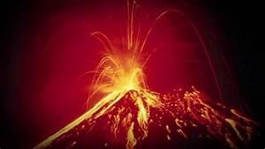 Massive  Volcanic Eruption In Russia