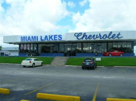 Miami Lakes Automall  Chevrolet Kia Dodge Chrysler Jeep