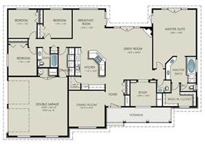 4 bed house plans country style house plan 4 beds 3 baths 2563 sq ft plan 427 8