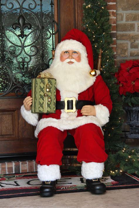 KAREN DIDION ORIGINALS SC06 5 Foot Sitting Santa