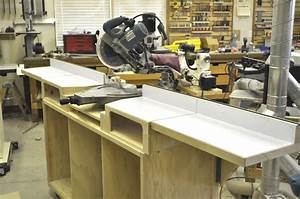 How to Build a Miter Saw Table (Step by Step) - Impossible