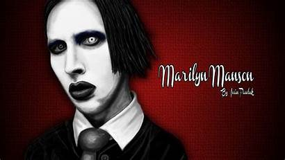 Manson Marilyn Wallpapers Gothic Metal Heavy 1080p