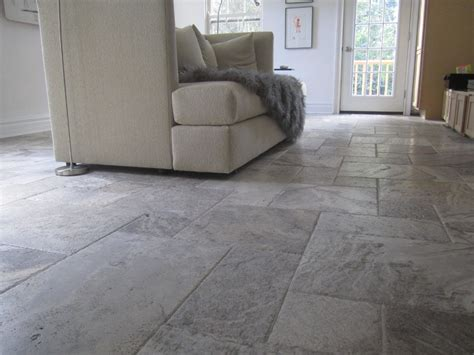 grey travertine floor tiles grey travertine for spaces contemporary with pewter honed square mosaic backsplash wall tiles
