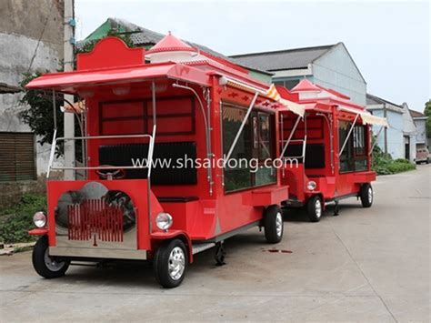 Factory Price Customized Mobile Food Cart used Electric