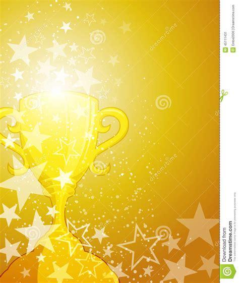 award winner background stock vector image