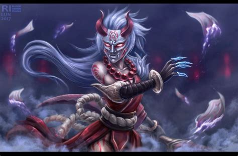 blood moon diana  rilun league  legends