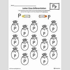 Alphabet Letter Hunt Letter P Worksheet Myteachingstationcom