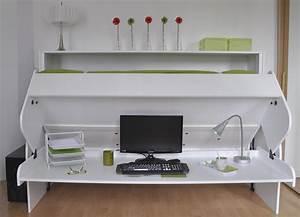 Lit Gain De Place : lit relevable bureau ~ Premium-room.com Idées de Décoration