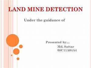Land Mine Detection
