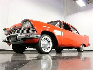 1958 Plymouth Plaza 62966 Miles Red Coupe 318 Poly V8 3