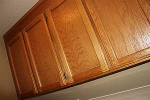 Hometalk how to paint oak cabinets without sanding or for Kitchen cabinets lowes with canvas mason jar wall art