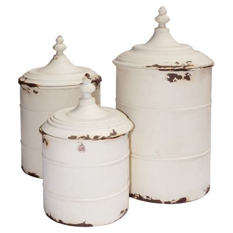 country kitchen canisters sets 3 lucia canister set country charm on wayfair in