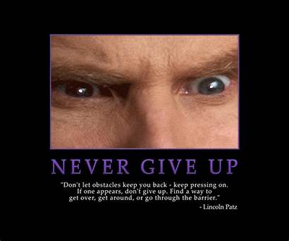 Motivational Give Never Posters Sales Poster Age