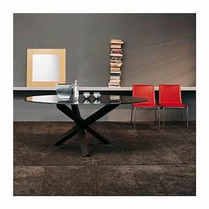 Table De Salle A Manger Ovale : table de salle manger ovale design en verre aikido sovet 4 ~ Teatrodelosmanantiales.com Idées de Décoration