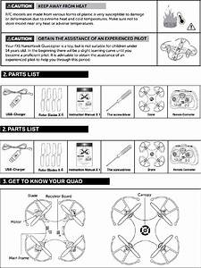 Blue Sky Wireless Bswhy851 Quadcopter User Manual