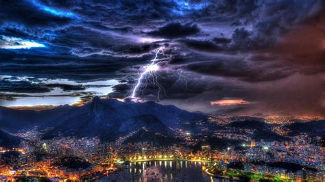 lightning wallpapers backgrounds images freecreatives