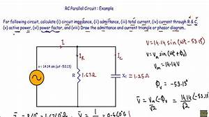 Rc Parallel Circuit   Ac Example