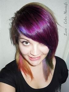 Coloration Cheveux Court : coloration cheveux rouge rose directions color mania ~ Melissatoandfro.com Idées de Décoration