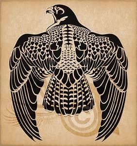 Egyptian Horus Peregrine Falcon by Amoebafire | Tattoos ...