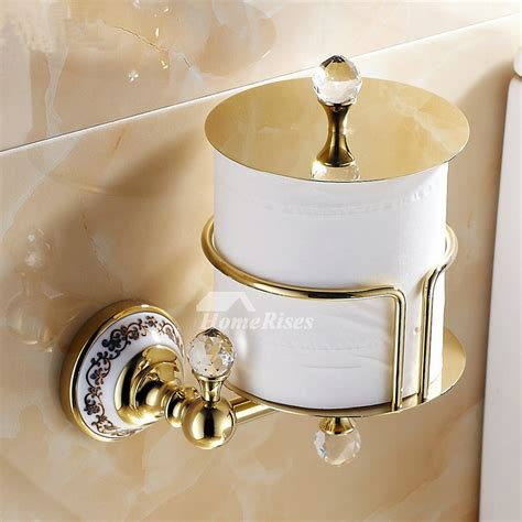 luxury wall mounted antique brass unique toilet paper roll holder